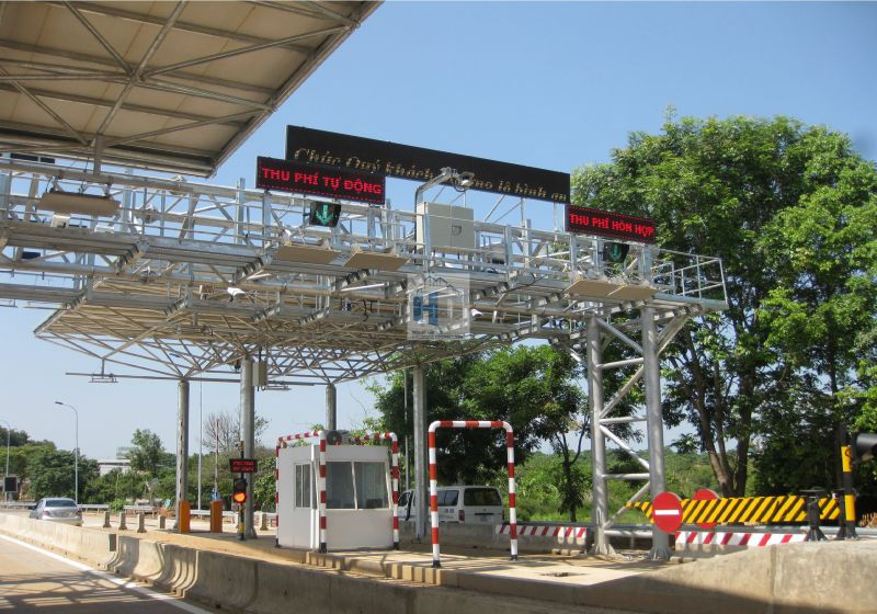 Toan My 14 Toll Plaza